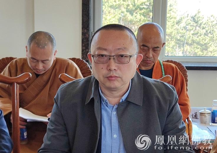 吉林省佛教协会副会长张海忠(图片来源:凤凰网佛教 摄影:吉林省佛教协会)