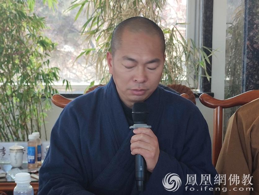 吉林省佛教协会副会长通藏法师(图片来源:凤凰网佛教 摄影:吉林省佛教协会)