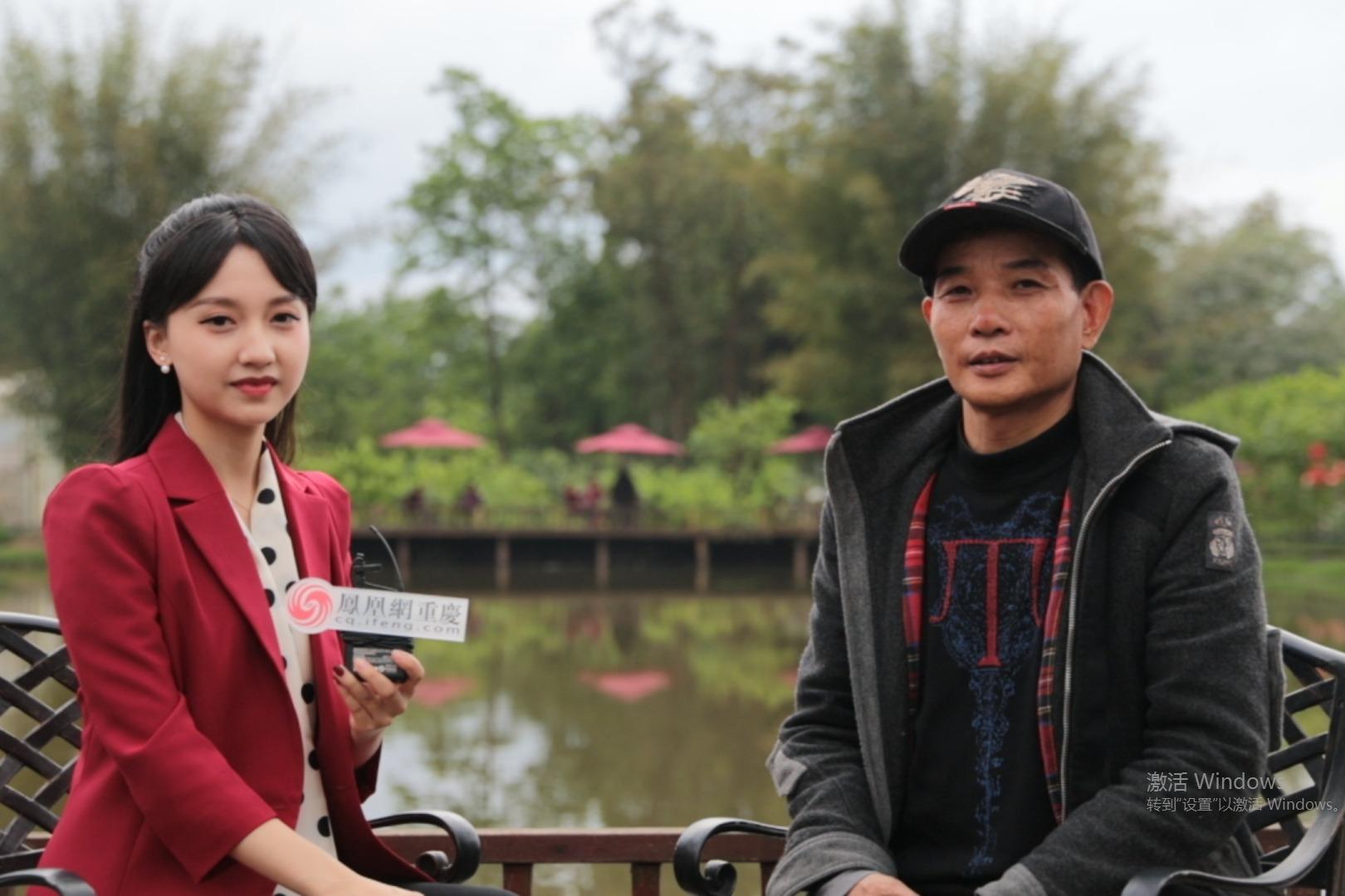 采访丨重庆潼南桑葚采摘园负责人介绍本届小龙虾节的丰富活动