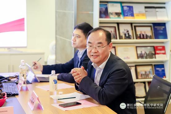 浙大和西湖大学首期接产基地迎来医学人工智能专家
