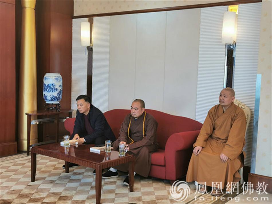 图片来源:凤凰网佛教 摄影:湖南省佛教协会