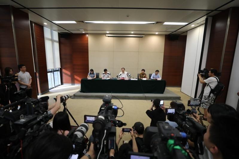 视频丨杭州举行金钱豹外逃事件新闻发布会