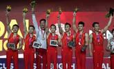 体操世锦赛男团3次大失误惊险夺冠:
