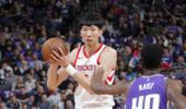 周琦NBA首个赛季:场均1.2分1.2板0.8帽 命中率18.8%
