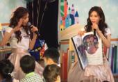 林志玲為孩子講童話故事