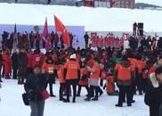 中国东极抚远,黑瞎子岛冰上马拉松开开赛(多图)