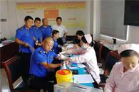 19年无偿献血95次 合肥一男子献血达42400毫升