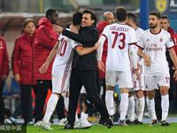 恰球王意甲首球 AC米兰4-1切沃