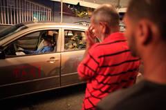 """出租车司机去世后再上街""""开""""车"""