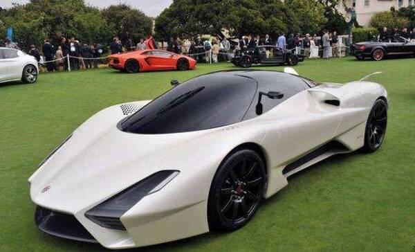 最汽車:世界十大最貴跑車,布加迪威龍只能排第八?圖片