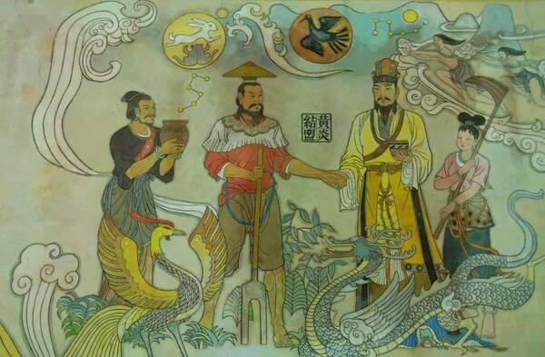 炎帝与黄帝的传�_相传这个时代有两位传奇人物, 黄帝与炎帝(又名神农).