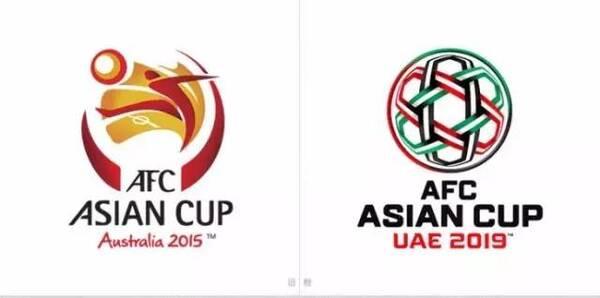 新鮮出爐的2019年亞洲杯足球賽logo圖片