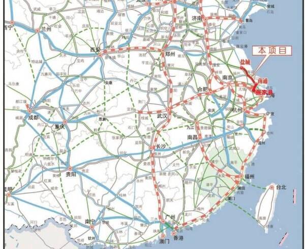 刚刚,第一条途径海安的高铁开建!工期4年,最高时速350