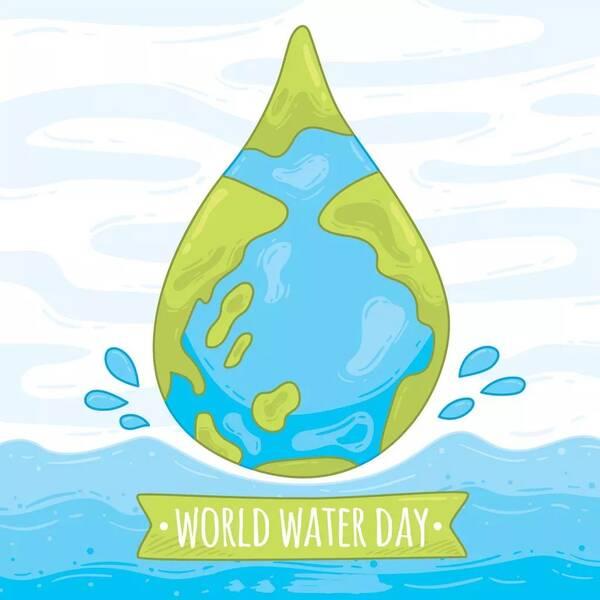 世界水日_你好,世界水日!