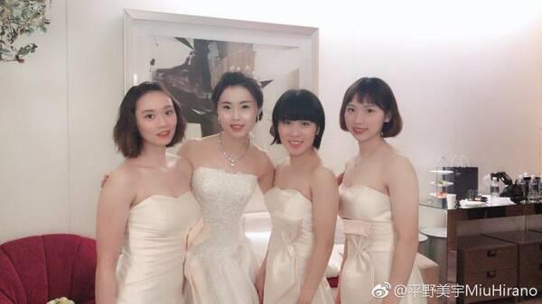 平野美宇公开表白中国教练:喜欢你 日本天才当伴娘祝福中国恩师