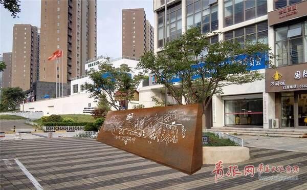 街景雕塑重现百年台柳路昔日风采。.jpg