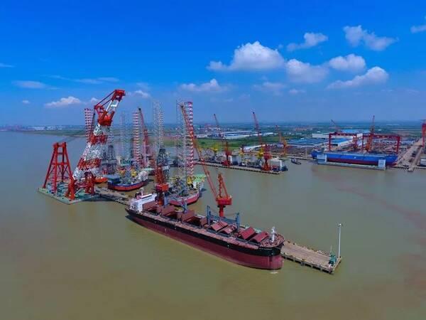 海门国家级经济技术开发区重组建立了总投资超百亿元的招商局重工