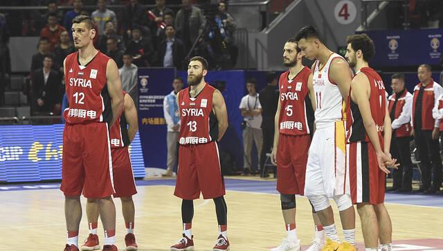 输了49分!战火中的叙利亚男篮值得尊重