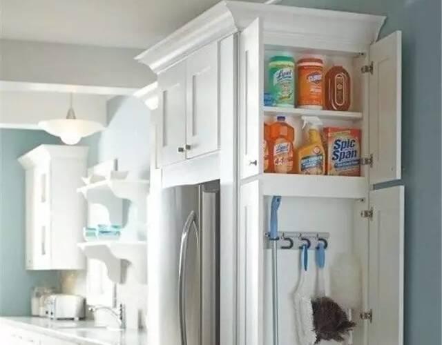 酒柜加冰箱位置效果图