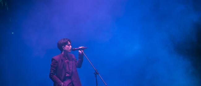 """林宥嘉idol演唱会西安深情开唱 本轮巡演首个户外场宛如""""露天电影院"""""""