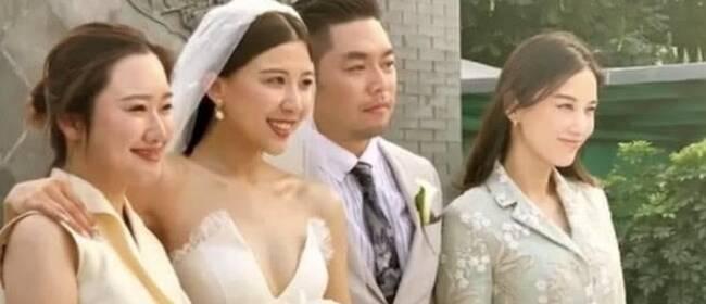 黄圣依现身婚礼当证婚人 伴娘赵奕欢舞姿热辣