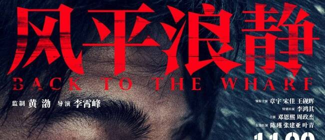 《风平浪静》定档11月6日  2020首部华语犯罪片汹勇上映