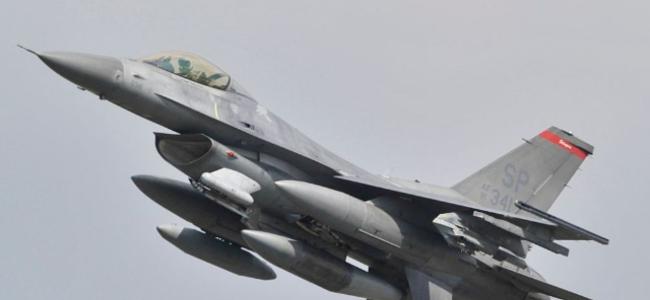 一架美军F-16战机在德国西南部坠毁 飞行员弹射逃生
