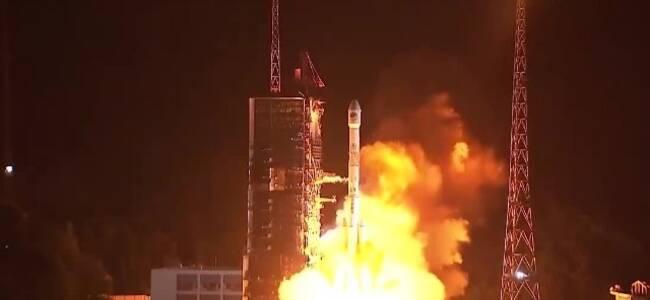 震撼!中国成功发射第四十六颗北斗导航卫星