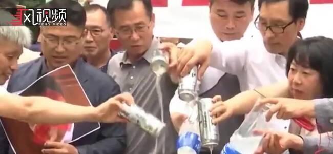 """韩民众反日情绪上升 周末或超5万家商店""""抵制日货"""""""