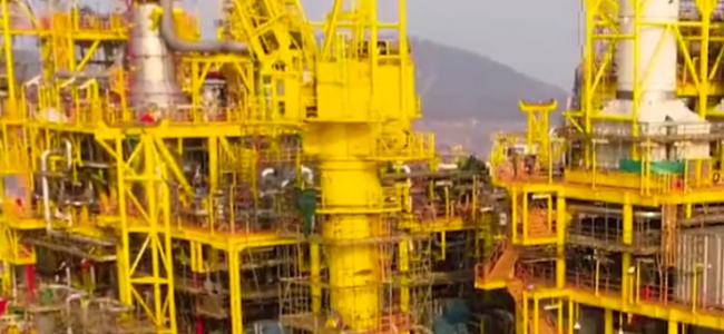 """中国自主研发""""深海一号""""能源站交付启航 全球第一"""