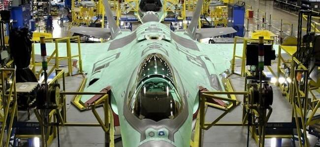 美国正要猛造F-35 谁料试飞基地曝出疫情
