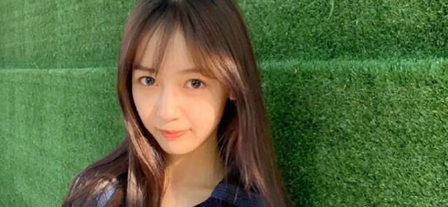 吴亦凡女友身份疑曝光 模样清纯大眼水灵年仅21岁