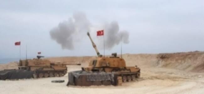 亲历土叙边境:到处浓烟滚滚炮声不断 天天有平民伤亡