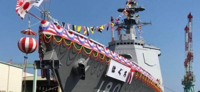 疯狂造舰一年一艘?日本第8艘宙斯盾舰下水了