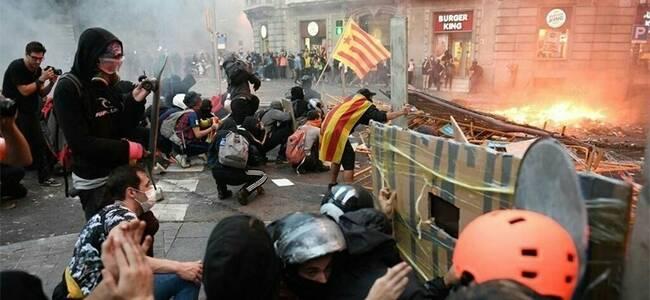 西方媒体大型双标现场:加泰暴乱了,他们沉默了