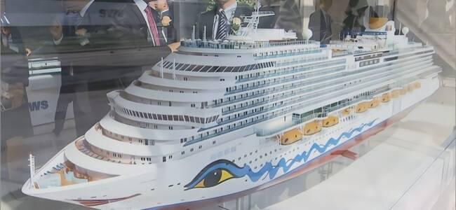 中国开建首艘大邮轮 排水量13万吨超美军最大航母