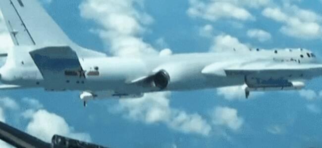重磅!中国空军首次公布国际空域排除外机干扰影音