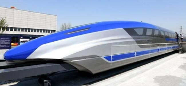 央视剧透!中国时速600公里的高速磁悬浮列车亮相