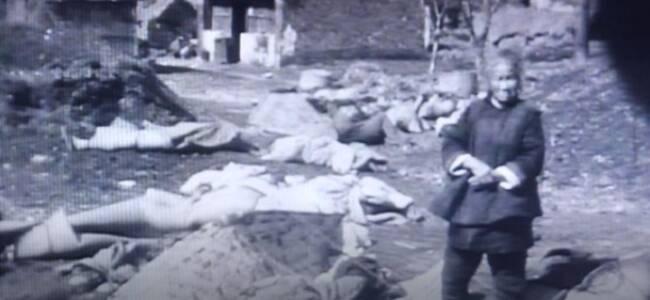 再添37分钟铁证!南京获赠现存最完整南京大屠杀影像