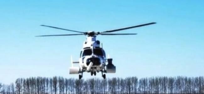"""中国这款直升机 为何装了一把超长""""刺刀""""?"""