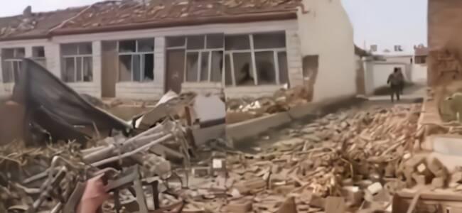 实拍龙卷风袭击内蒙古 村民:吹倒十多栋房子 活久见!