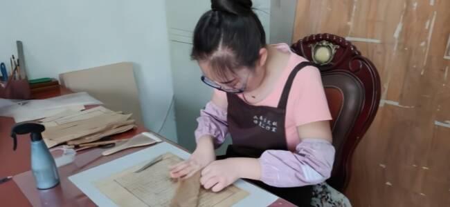 修复古籍的年轻人:曾修复北宋孤本,一页就值300万