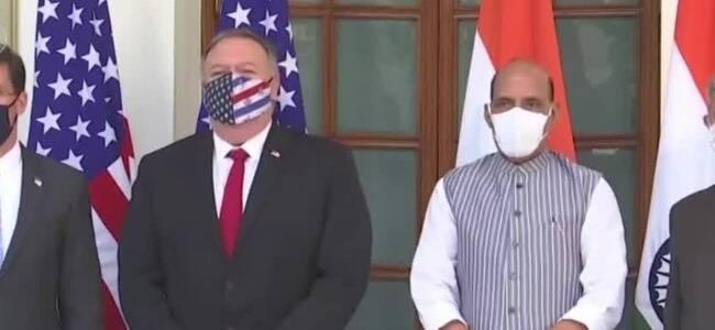 印度成美国军事盟友?已签署3个军事协议 第3个最关键