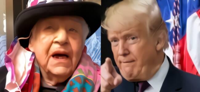 美国104岁老人投票让特朗普下台:现在能快乐死去了