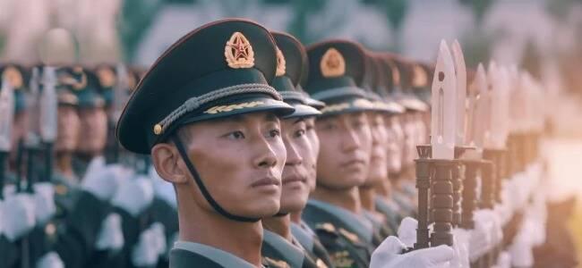 100秒混剪 看中国军人带来的安全感