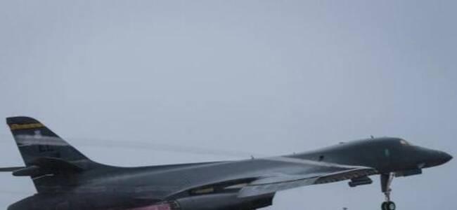 俄战机日本海上空伴飞美国轰炸机 三天内过招两次