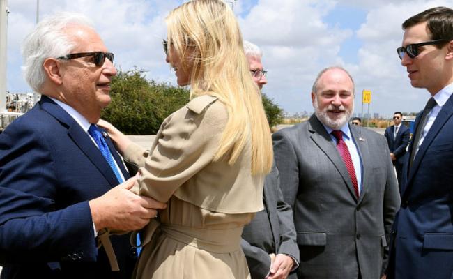 伊万卡抵以色列 将出席美驻以使馆搬迁