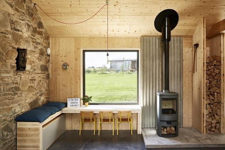 英设计师与妻子将旧屋改造成温馨大宅