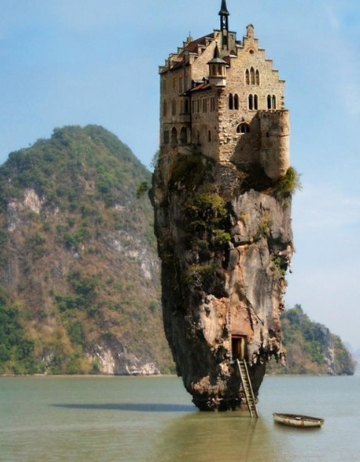 這些建在懸崖上的房子你敢住嗎?最后一張最嚇人!