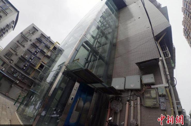 """重庆男子修建""""最牛""""电梯 只到自己家"""
